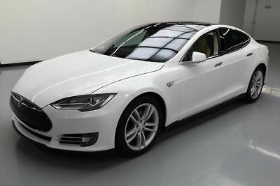 2015 Tesla Model S  2015 TESLA MODEL S 85D AWD AUTOPILOT PANO ROOF NAV 19K #089837 Texas Direct Auto
