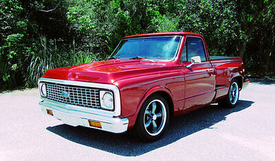 1972 Chevrolet C-10 Custom 1972 Chevrolet C10 Custom Step Side Pick Up 383 Stroker Auto A/C! Tricked Out!