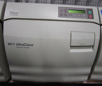 Ritter Midmark M11 Ultraclave Tabletop Autoclave Excellent Condition - WARRANTY