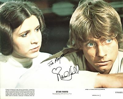 Mark Hamill Star Wars Authentic Signed 8X10 Photo Autographed BAS #B38853