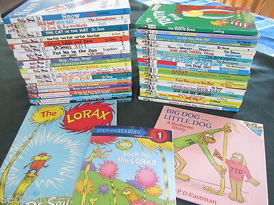 67 Dr. Seuss Bright and Early Beginner HC Books CLASSICS All NEW Unread