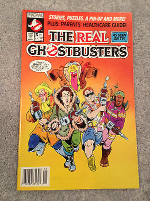 The Real Ghostbusters # 3 Nm Mini Series 1991 Now Comics Newsstand Edition