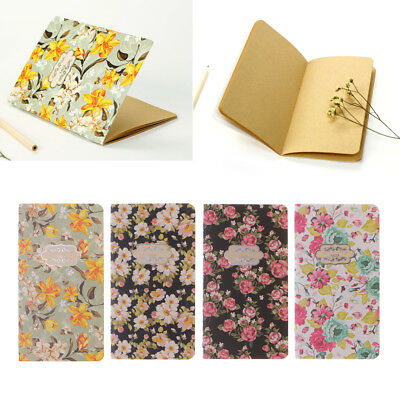 Flower 28 Sheets Planner Sketchbook Notebook Diary  Stationery School Supplies