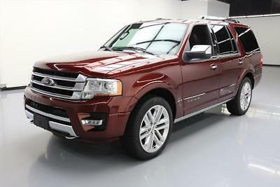 2015 Ford Expedition Platinum Sport Utility 4-Door 2015 FORD EXPEDITION PLATINUM 4X4 ECOBOOST NAV 22'S 29K #F47135 Texas Direct