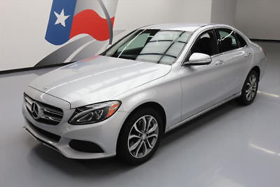 2015 Mercedes-Benz C-Class 4Matic Sedan 4-Door 2015 MERCEDES-BENZ C300 AWD TURBO NAV BURMESTER 31K MI #001839 Texas Direct Auto