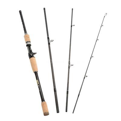 210cm/240cm Baitcasting Spinning Angelrute Medium Stange Angelrute Schnell Y2P8