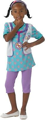 Girls Disney Doc McStuffins Doctor Pet Vet Book Day Fancy Dress Costume Outfit