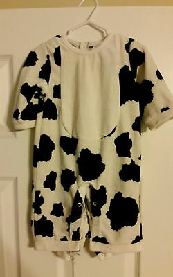 Children's Place Moo Cow Halloween Costume (3-6 Months) Infant Baby Boys Girls