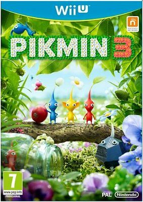 Nintendo Wiiu Game Pikmin (III) 3 for the New Wii u New