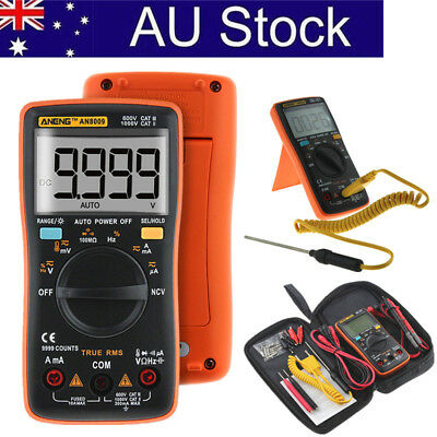 Electrical LCD Digital Clamp Meter Multimeter RMS AC/DC OHM Multi Tester AU SHIP