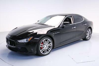 2014 Maserati Ghibli S Q4 Sedan 4-Door 2014 MASERATI GHIBLI S Q4 AWD SUNROOF NAV REAR CAM 27K #086680 Texas Direct Auto