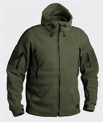 HELIKON TEX PATRIOT HEAVY FLEECE Outdoor Kapuzen JACKE OD Green oliv XXXLarge
