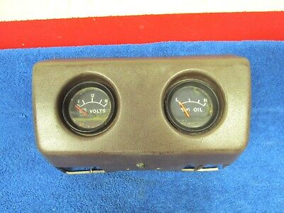 1979-83 Toyota Truck Sr5  Oil & Volts Under Dash Gauge Cluster Pod 1217