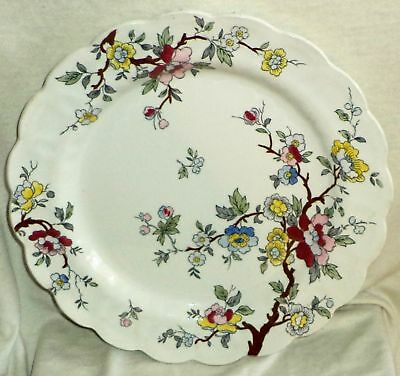 Booths Chinese Tree Dinner Plate Made In England