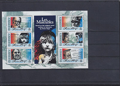 057326 Les Miserables Musik Music Guernsey Block 29 ** MNH Year 2002