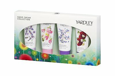 Yardley London Hand Cream Collection Pack of 4