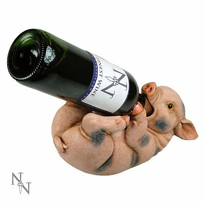 Guzzler Pig Wine Bottle Holder