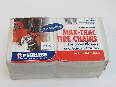 Security Chain Company Max Trac Snow Blower Garden Tractor Tire Chain #AMZ49