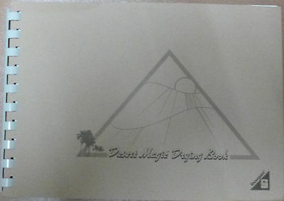 SHOWGARD DESERT MAGIC Small STAMP DRYING BOOK SMALL Size 210 x 150mm