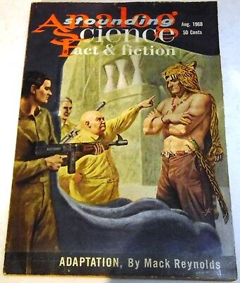 Analog/Astounding Science Fact & Fiction – US Digest – Vol.65 No.6 - August 1960