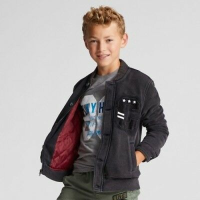 NEW Boys' Bomber Jacket - Cat & Jack  Gray M
