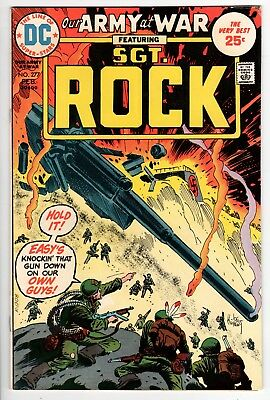 Our Army at War #277 FN- 5.5 DC Bronze Age War 1975!!!