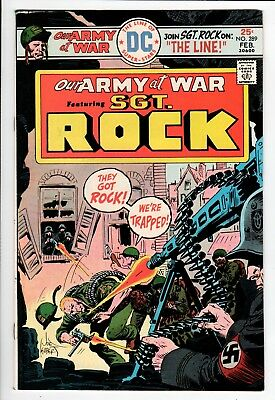 Our Army at War #289 FN/VF 7.0 DC Bronze Age War 1976 Sgt. Rock!!!