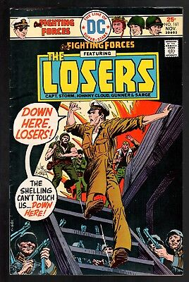 Our Fighting Forces #161 VG/FN 5.0 DC Bronze Age War 1975 Jack Kirby The Losers!