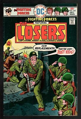 Our Fighting Forces #162 VG/FN 5.0 DC Bronze Age War 1975 Jack Kirby The Losers!