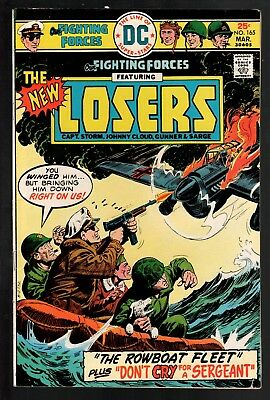 Our Fighting Forces #165 VG/FN 5.0 DC Bronze Age War 1976 Jack Kirby The Losers!