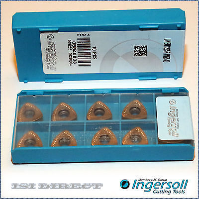 Uneu 1205R In2540 Ingersoll *** 10 Inserts *** Factory Pack ***