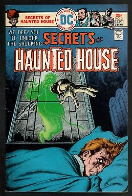 Secrets of Haunted House #3 VG/FN 5.0 DC Bronze Age Horror 1975!!!
