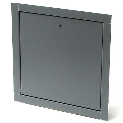 Elmdor FRC12X12PC-DUL 12in x 12in Fire Rated Metal Wall or Ceiling Access Panel