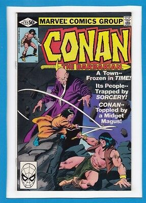 """Conan The Barbarian #122_May 1981_Very Fine_""""frozen In Time""""_Bronze Age Marvel!"""