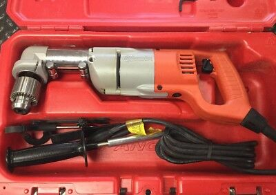 """Milwaukee 1107-1 Corded Right Angle Drill 1/2"""" (13mm)"""