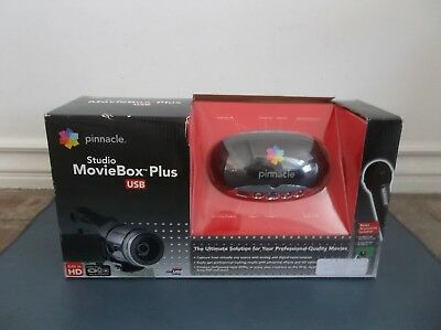 Pinnacle HD Studio MovieBox Plus USB Movie Production & Editing System 710 USB