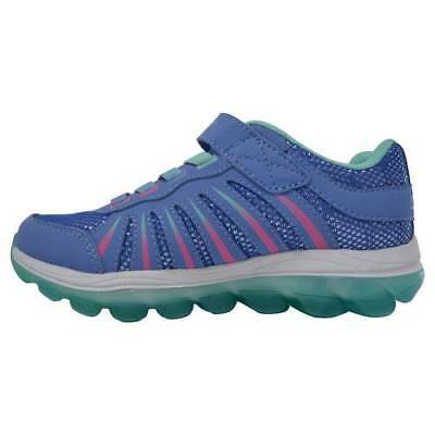 NEW Skechers Girl's All Clear Performance Athletic Shoes - Blue - Size:3