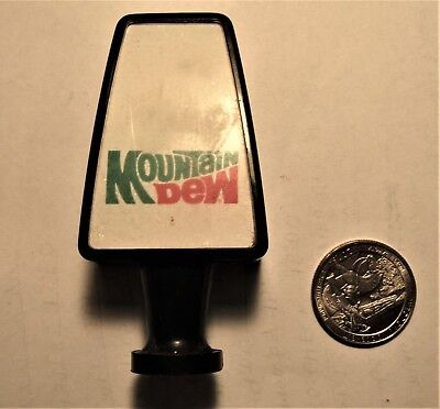 MOUNTAIN DEW 1960's/70's soda fountain tapknob