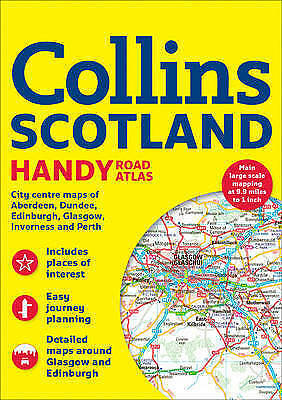 Collins Handy Road Atlas Scotland by Collins Maps (Paperback, 2017)