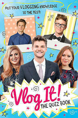 Vlog it! the Quiz Book by Scholastic (Paperback, 2017)