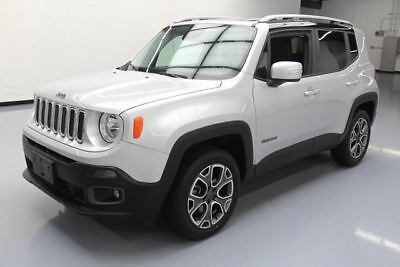 2015 Jeep Renegade Limited Sport Utility 4-Door 2015 JEEP RENEGADE LTD 4X4 HTD LEATHER REAR CAM 40K MI #B50571 Texas Direct Auto