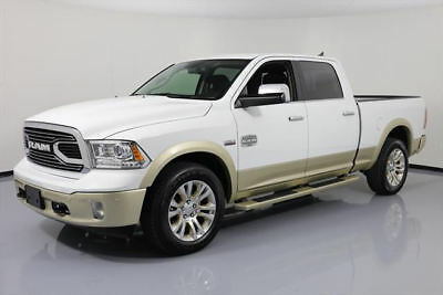 2017 Dodge Ram 1500 Limited Crew Cab Pickup 4-Door 2017 DODGE RAM 1500 LONGHORN CREW HEMI 4X4 NAV 20'S 5K #661454 Texas Direct Auto