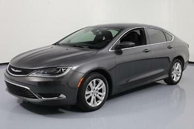 2015 Chrysler 200 Series  2015 CHRYSLER 200 SERIES LIMITED HTD SEATS SUNROOF 28K #642222 Texas Direct Auto
