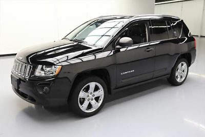 2013 Jeep Compass Limited Sport Utility 4-Door 2013 JEEP COMPASS LTD 4X4 SUNROOF NAV HTD LEATHER 59K #114846 Texas Direct Auto