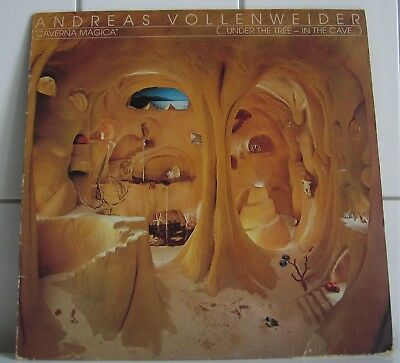 ADREAS VOLLENWEIDER  LP Caverna Magica (Under the tree - in the cave) 1983 Harfe