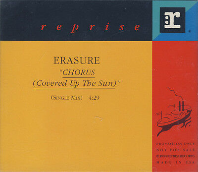 Erasure: Chorus (Covered Up The Sun) PROMO MUSIC AUDIO CD Single Mix PRO-CD-4945
