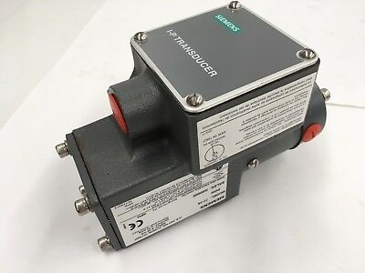 Siemens Electric To Pneumatic Transducer Model Series 77-16