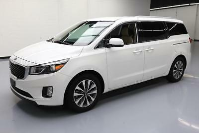 2015 Kia Sedona SX Mini Passenger Van 4-Door 2015 KIA SEDONA SX 8-PASS LEATHER NAV POWER DOORS 36K #019103 Texas Direct Auto