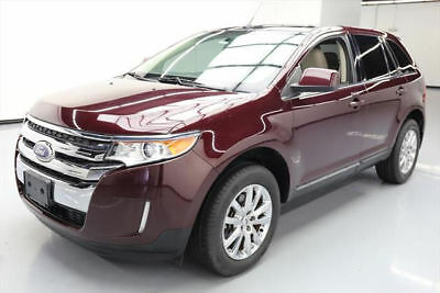 2011 Ford Edge Limited Sport Utility 4-Door 2011 FORD EDGE LTD LEATHER PANO SUNROOF REAR CAM 27K MI #A70186 Texas Direct