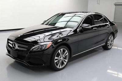 2015 Mercedes-Benz C-Class 4Matic Sedan 4-Door 2015 MERCEDES-BENZ C300 4MATIC PREM PANO NAV HUD 49K MI #035952 Texas Direct